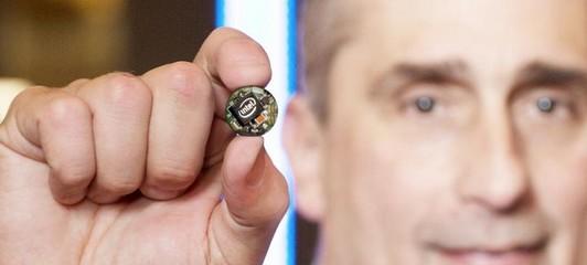 Intel Curie, un minisucle C présenté au CES 2015