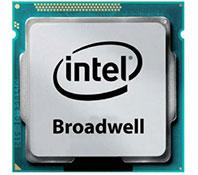 Le nouveau processeur Broadwell d'Intel.Cinquième génération des puces Intel Core.