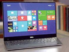 Le Dell XPS 13 pouces avec son Broadwell Core i5-5200U