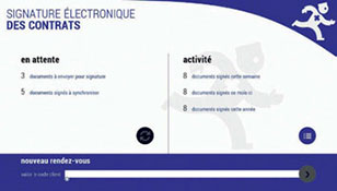 """Des applications métiers """"de bout en bout"""" avec la signature électronique."""