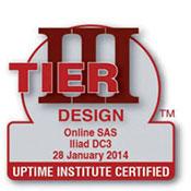 En France, trois certifications Tier Design ont été données : Crédit Agricole (Tier IV), Germalto (Tier III), Iliad DC3 (Tier II).