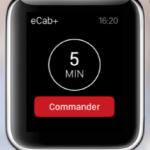 Réserver un taxi avec ecb Watch