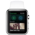 Evernote sur Apple Watch