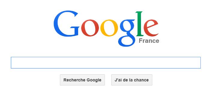 La recherche via Google