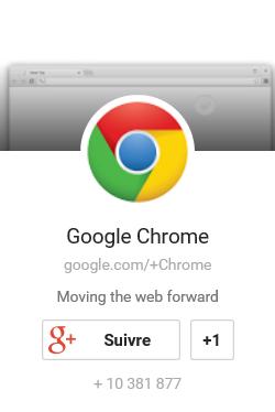 Compte Google de Chrome