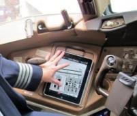 iPad dans le cockpit