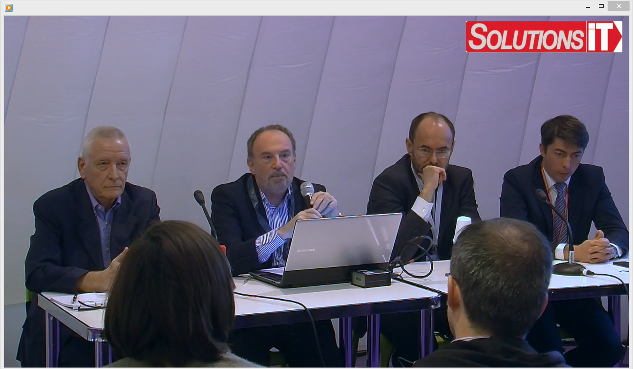 Conférence Solutions IT au salon RH 2015