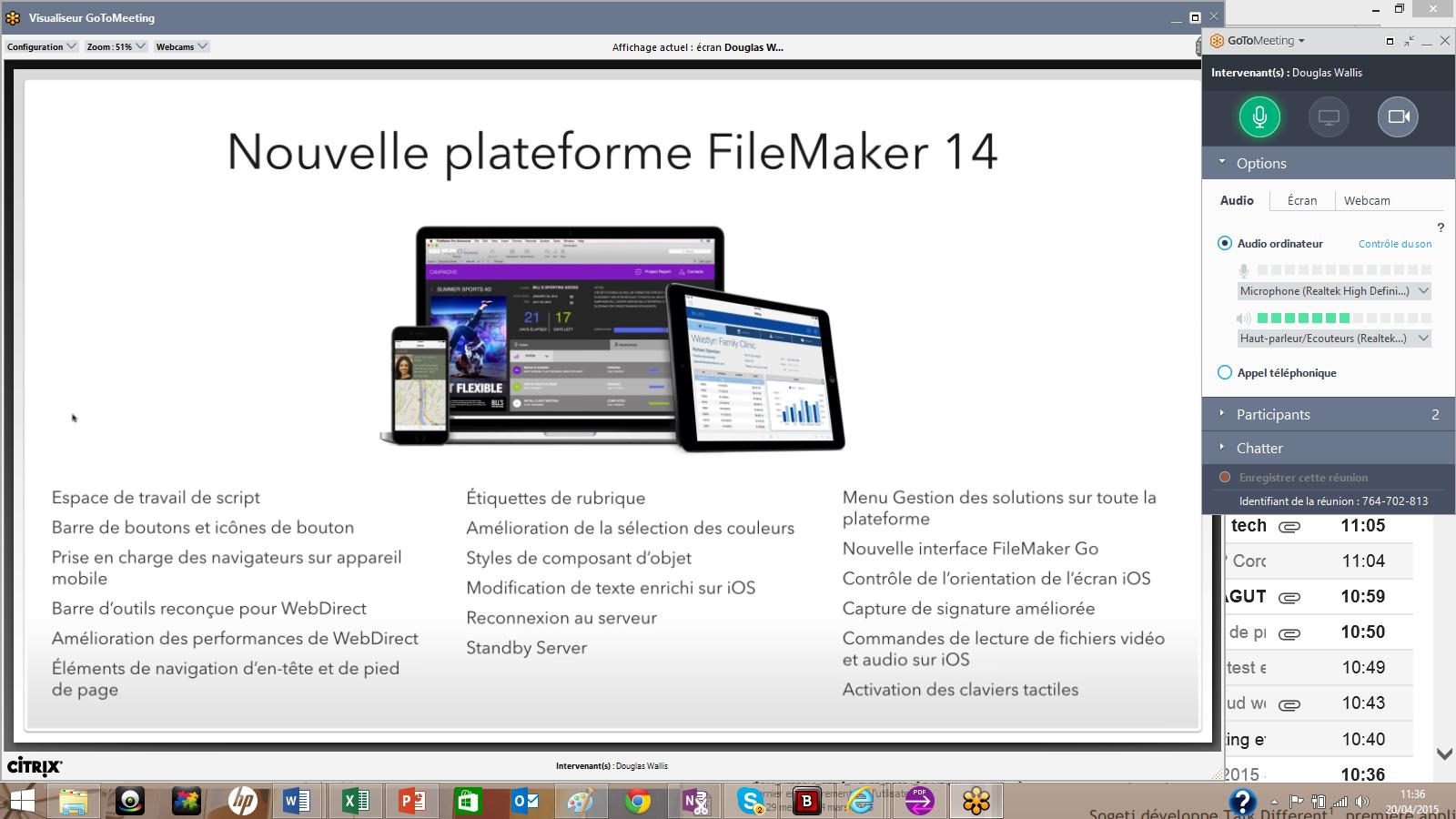 FileMaker est vendu sur abonnement ou en licence