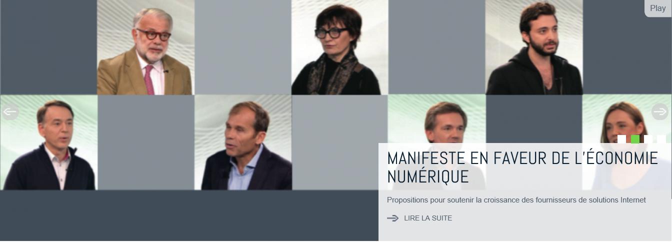 Le manifeste du Syntec Numérique