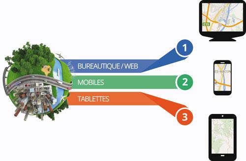 Prise de décision, interaction avec les utilisateurs ou optimisation des ressources de l'entreprise, Google Maps for Works apporte des solutions innovantes.