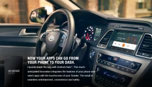 Android Auto sera installé sur tous les modèles de Hyundai