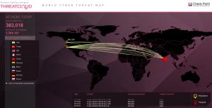Cartographie des menaces par Check Point