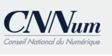 Logo du Conseil national du numérique