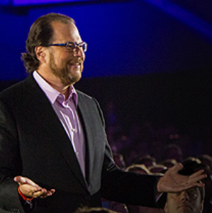 Marc Benioff, le CEO de Salesforce