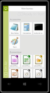 ApplisDis sur smartphone