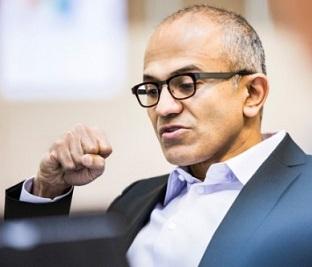 Satya Nadella, CEO de Microsoft (Illustration Microsoft )
