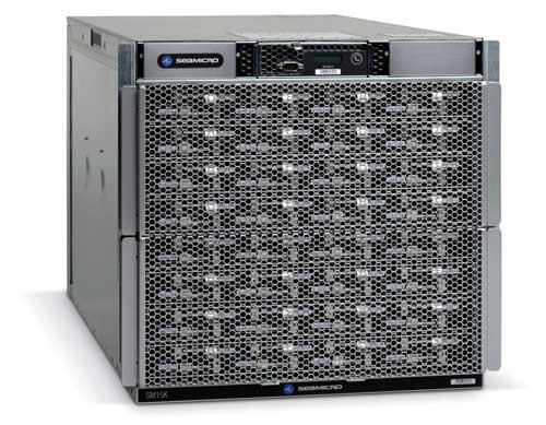 AMD propose un datacenter compact, clé en main, le SeaMicro SM15000.