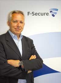 Olivier Quiniou, Directeur Général de F-Secure France