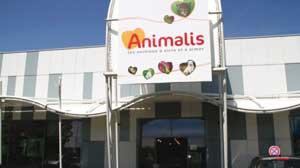 ➢Le magasin Animalis du centre commercial Pince-Vent (Ormesson, Val de Marne)