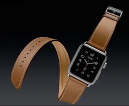 Apple Watch, bracelet Hermes