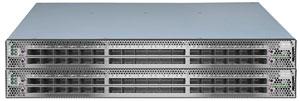 La famille de commutateurs SB7000 de Mellanox offre jusqu'à 36 ports 100 Gbps