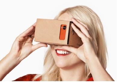 Google réalité virtuelle en carton