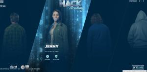Vous pouvez défier en ligne l'un des hackers : Ici, Jenny pour le vol de mots de passe.