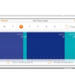 Thermostat Netatmo sur iPhone