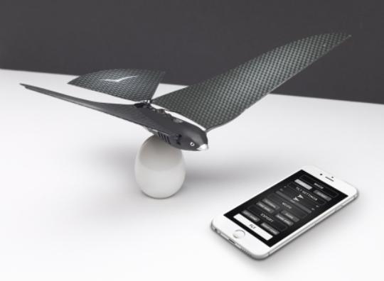 Bionic Bird : un drone furtif biomimétique connecté. 119 euros environ.