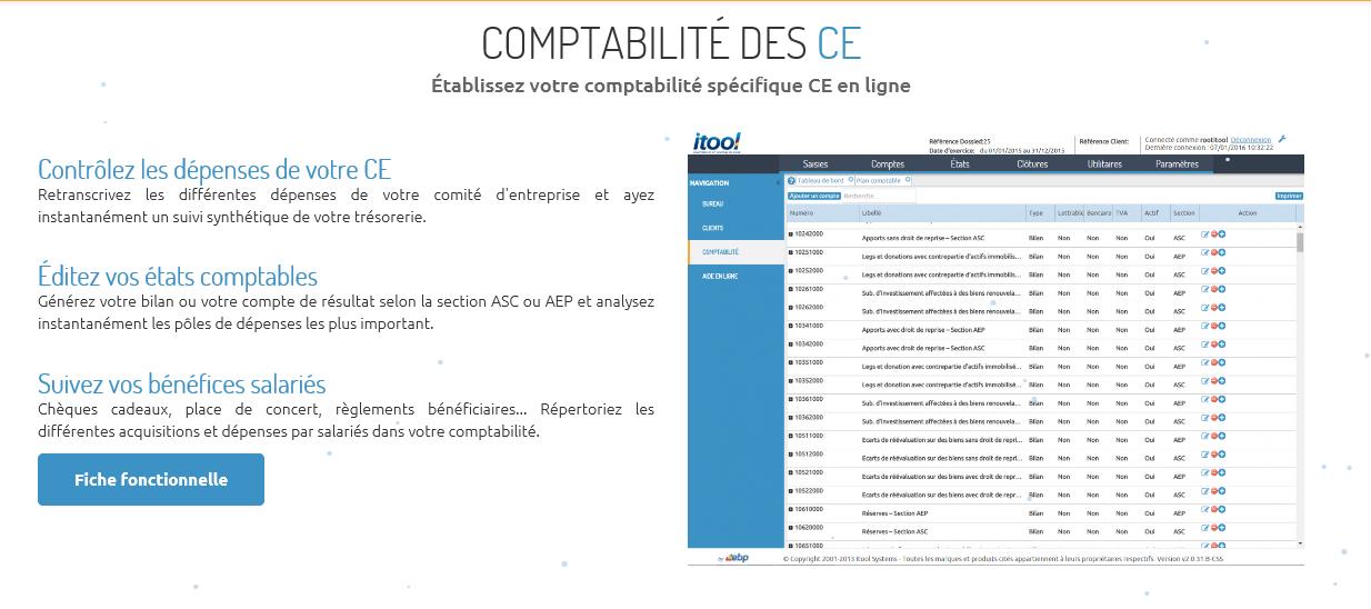 itool comptablité comité d'entreprise
