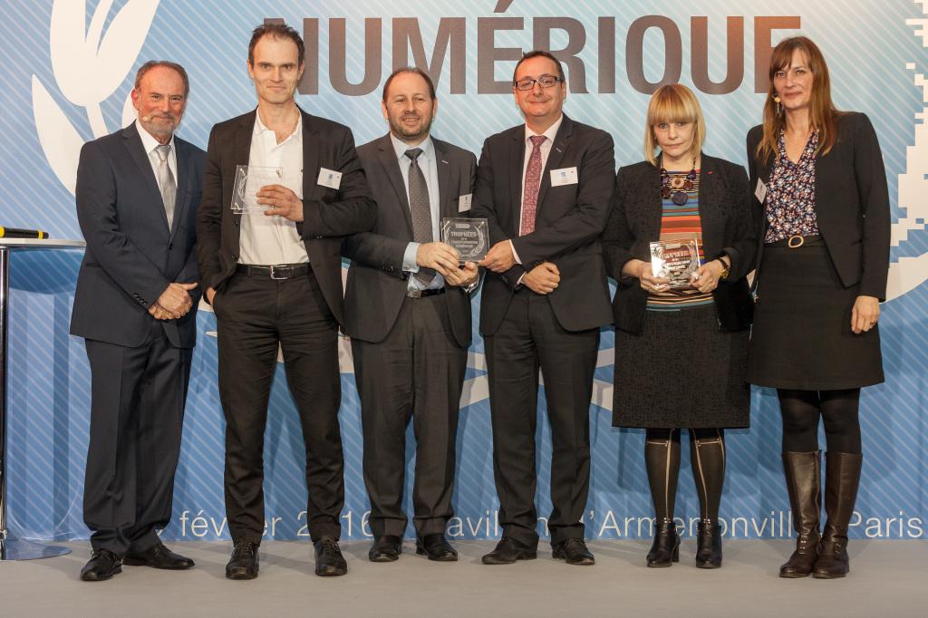 Trophées Transformation Numérique 2016-Lauréats catégorie Finances