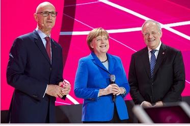 Cebit-Merkel