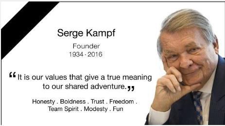 Serge Kampf-Home page de Capgemini-16 mars 2016