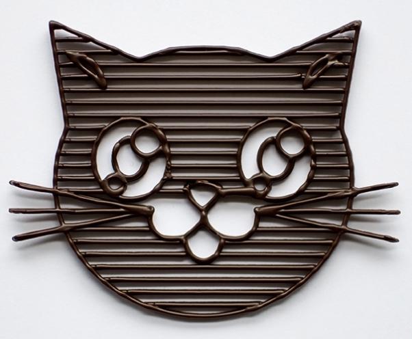 Impression 3D en chocolat
