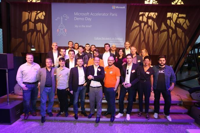 Demo Day Microsoft Accelerator Trou Eiffel