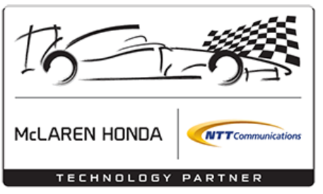 Partenariat McLaren Honda et NTT Communications