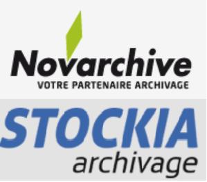 Novarchive et Stockia archivage