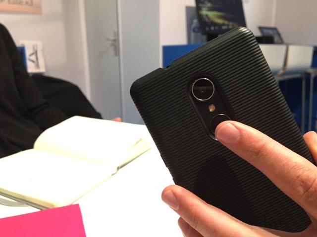 HP Elite X3 reconnaissance digitale
