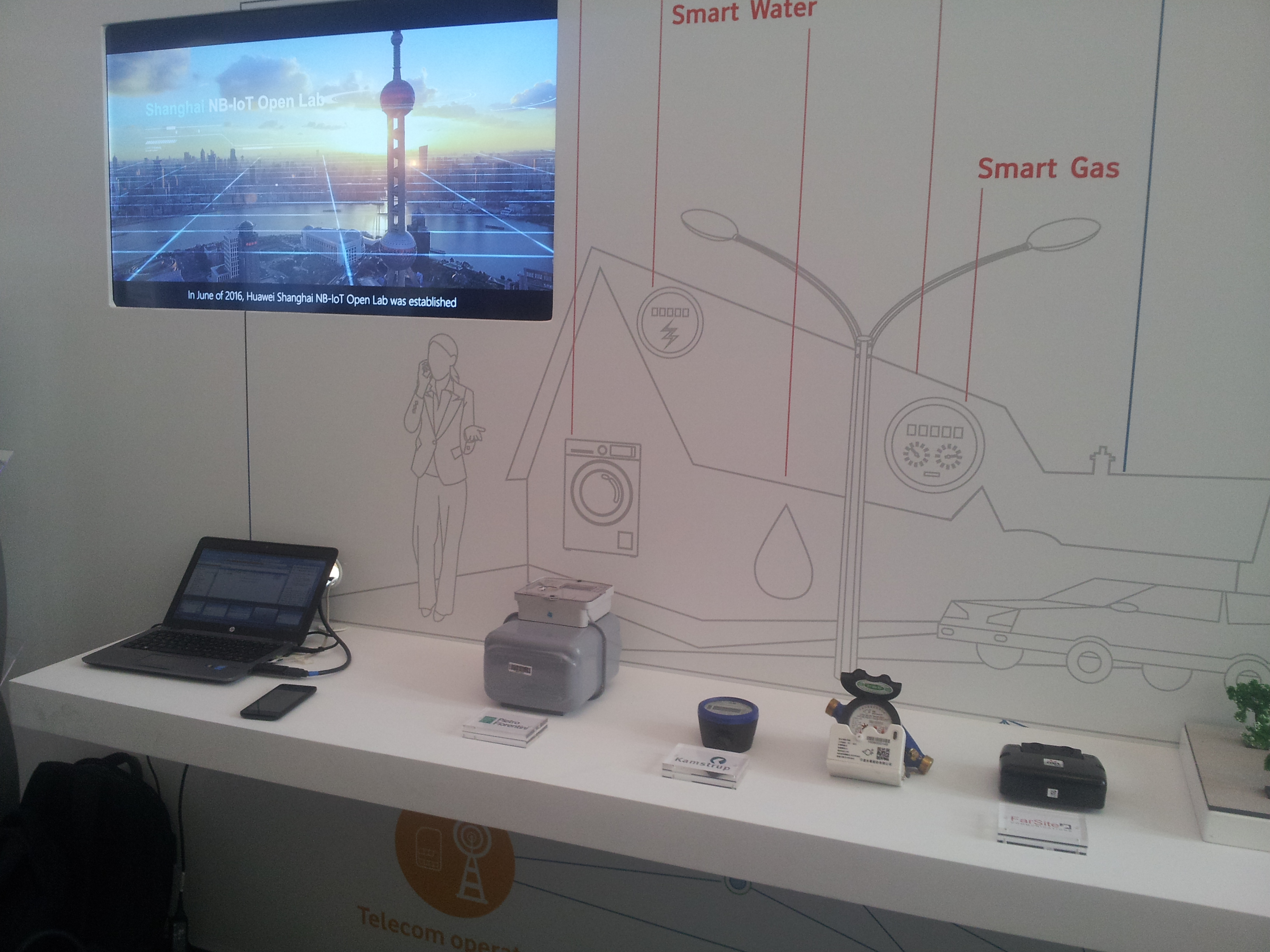 cas d'usages Huawei IoT
