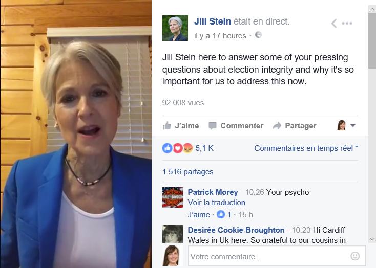 Jill Stein Facebook