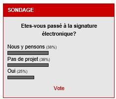 Résultats du sondage solutions-numériques.com le 8 novembre 2016