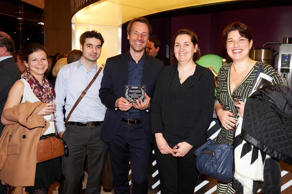 L'équipe Gourming Trophées de la Transformation Numérique
