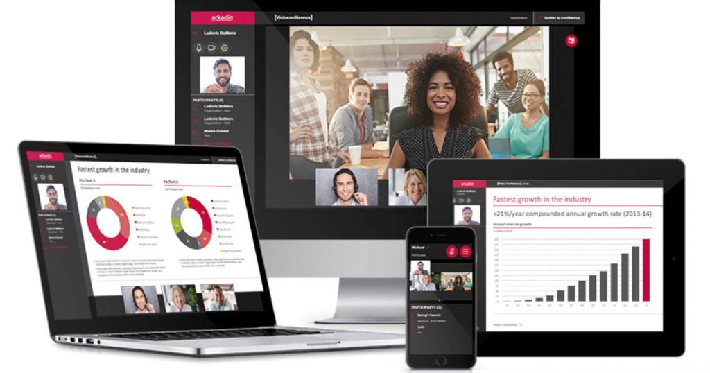 La nouvelle offre ArkadinVision est un espace de réunion virtuelle ultraflexible pour organiser des conférences audio, web, vidéo.