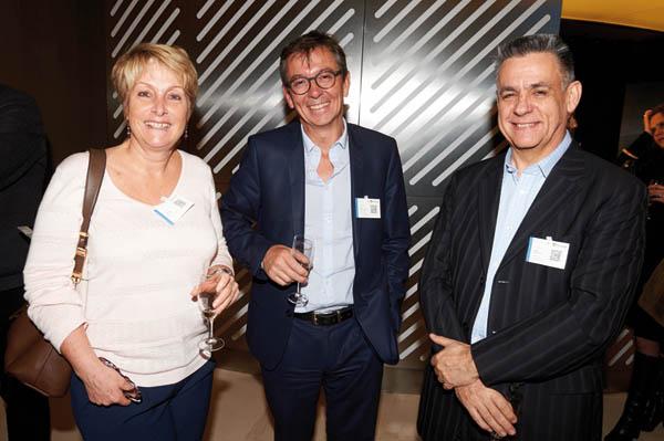 A droite, Cedric Cibot-Voisin, Country Manager EasyVista, et Sylvain Gauthier, CEO EasyVista ont soutenu Kuehne+Nagel dans son projet (Prix Logistique)