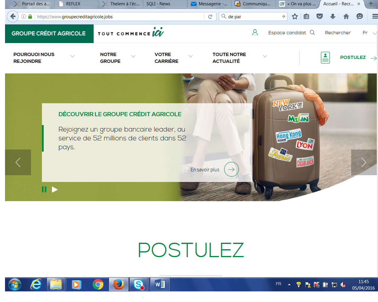 groupe credit agricole