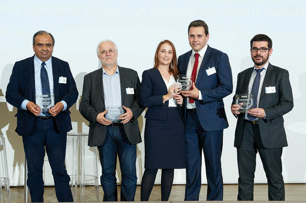Les champions IT des Trophées de la Transformation Numérique 2017 : Kubota, Essec, Orpea, Bordeaux Métropole