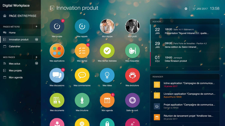La Digital Workplace vue par l'éditeur français Jamespot avec sa nouvelle solution Smartplace