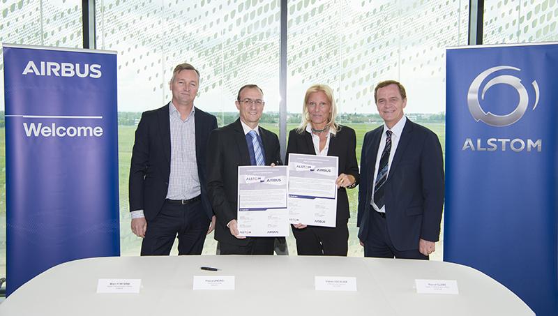Coopération dans le domaine de la cybersécurité entre Airbus et Alstom