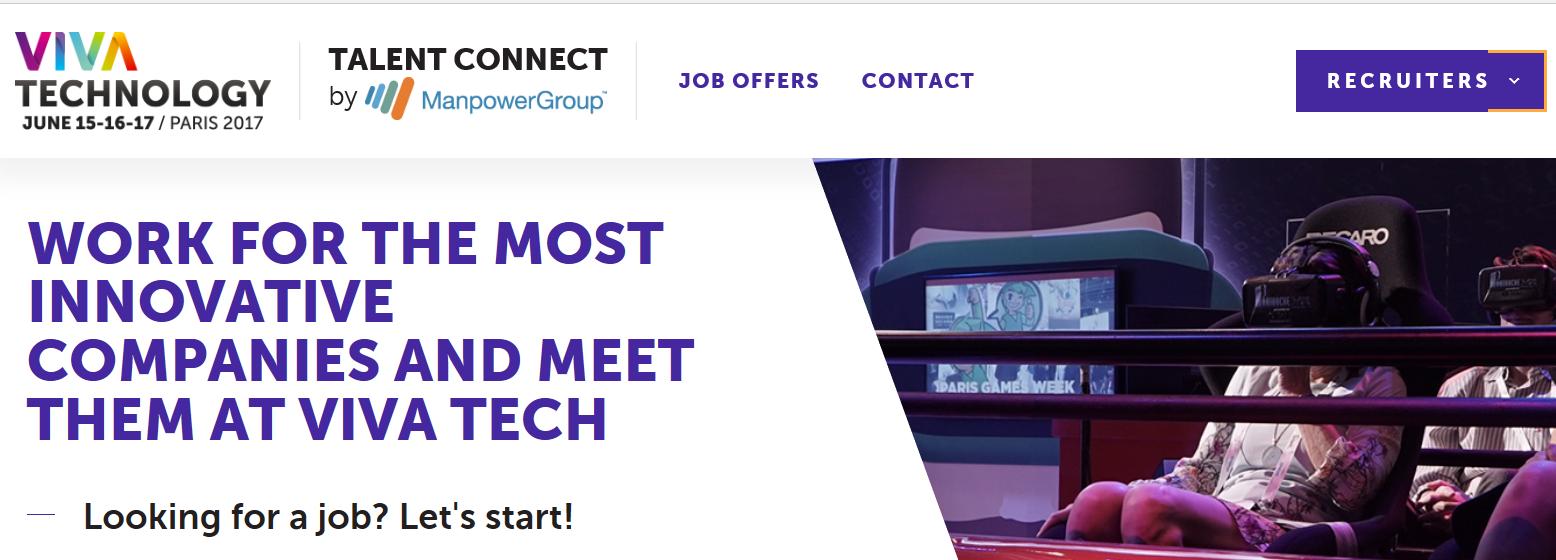 Plateforme Talent Connect