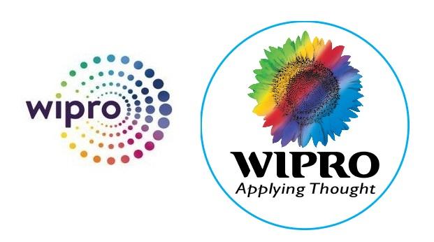 Wipro - nouveau et ancien logos